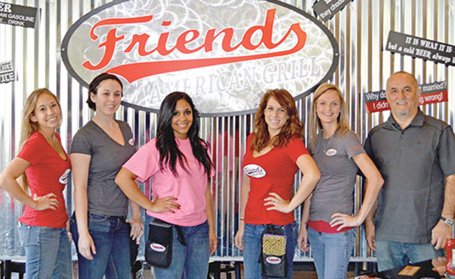 Restaurant Spotlight on: Friends American Grill