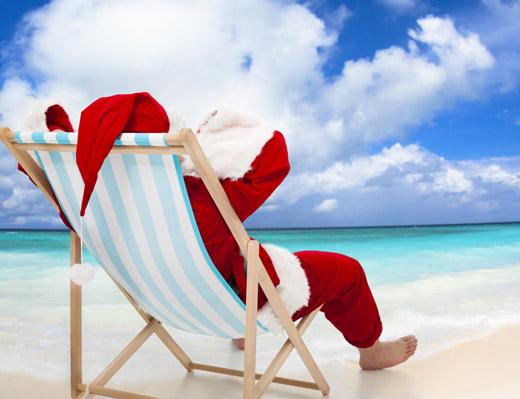 Santa is coming to Lanier Islands, Georgia