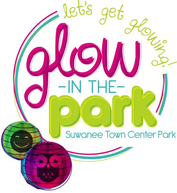 Glow in the park event in Suwanee, april 15 2017