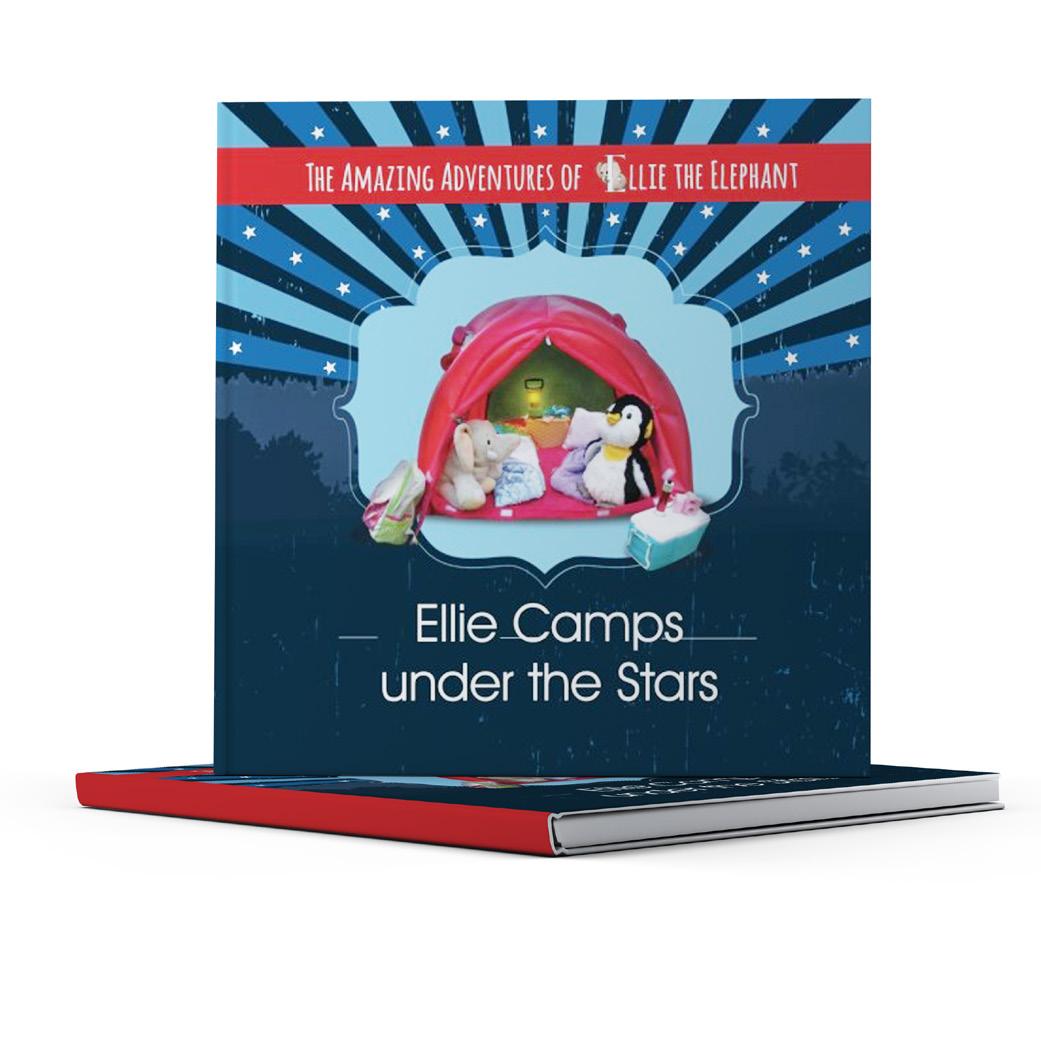 Ellie under the stars