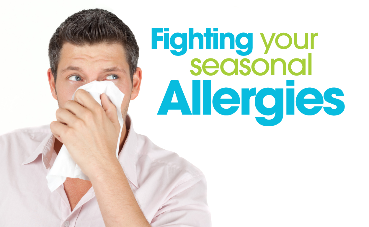 Image result for Are You Fighting Seasonal Allergies?