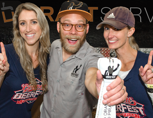 Monday Night Brewing wins Flavors of Fall Brew Battle at 2015 Gwinnett Beer Fest at Coolray Field