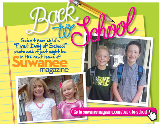 Share your back to school photos with Suwanee Magazine!