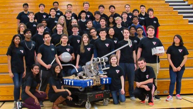 North Gwinnett High School Robotics Team Wins First Robotics