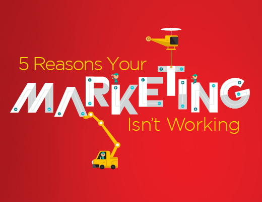 5 reasons your marketing isn't working