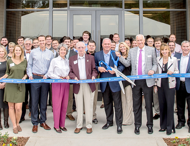 Reeves Young Contracting Ribbon Cutting