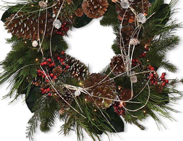 Wreath Making Tips Suwanee Magazine